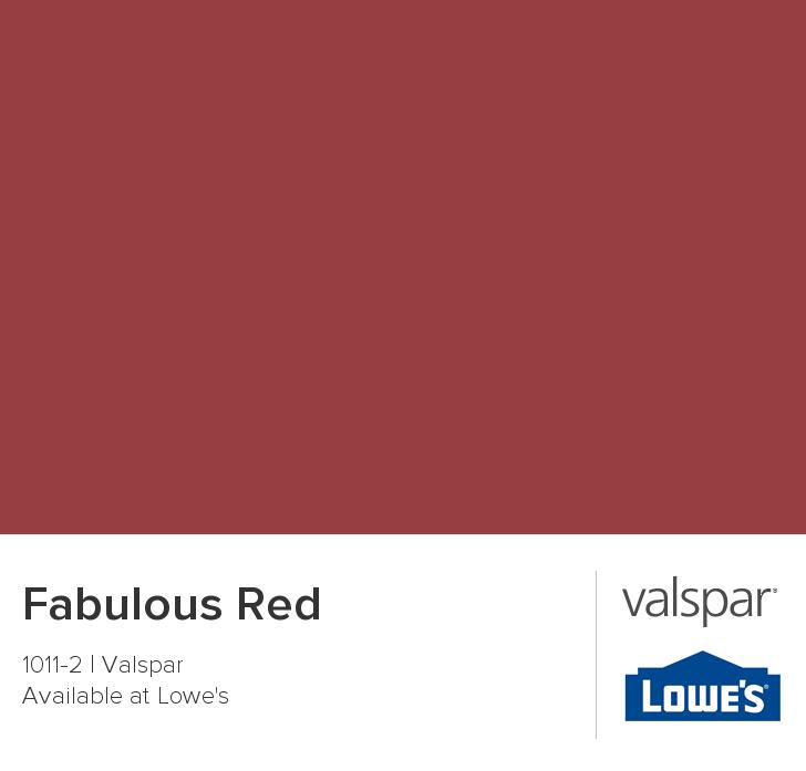Valspar Paint Color Chip Fabulous Red Valspar Paint Colors Valspar Valspar Colors