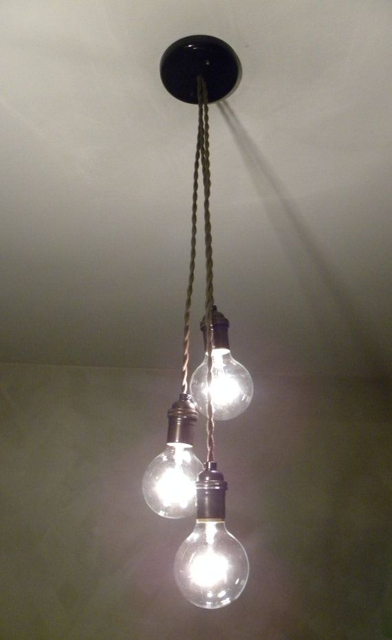 3 Cluster Custom Any Colors Multi Pendant Hanging Light