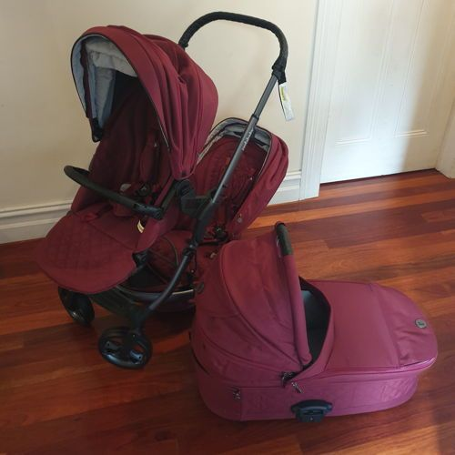 Double Pram Hire Perth Jive² Platinum Redsbaby Baby Equipment Prams Baby Gear