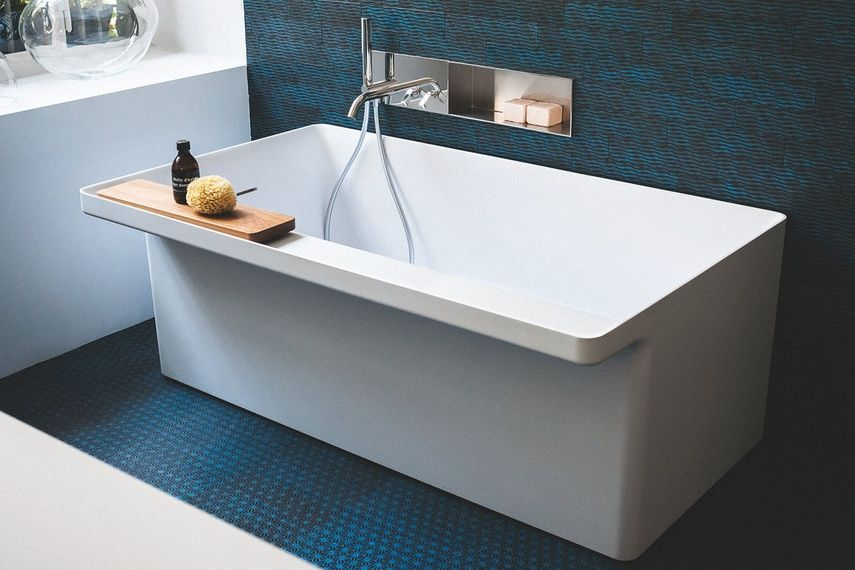 The Agape Marsiglia Bathtub Is Ideal For Environments With Reduced Dimensions