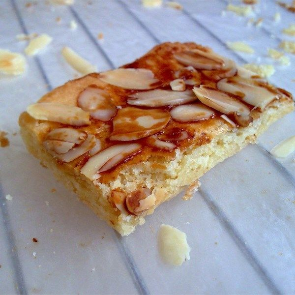 Scandinavian Almond Bars Recipe With Images Norwegian Almond Cake Recipe Almond Recipes Almond Cake Recipe