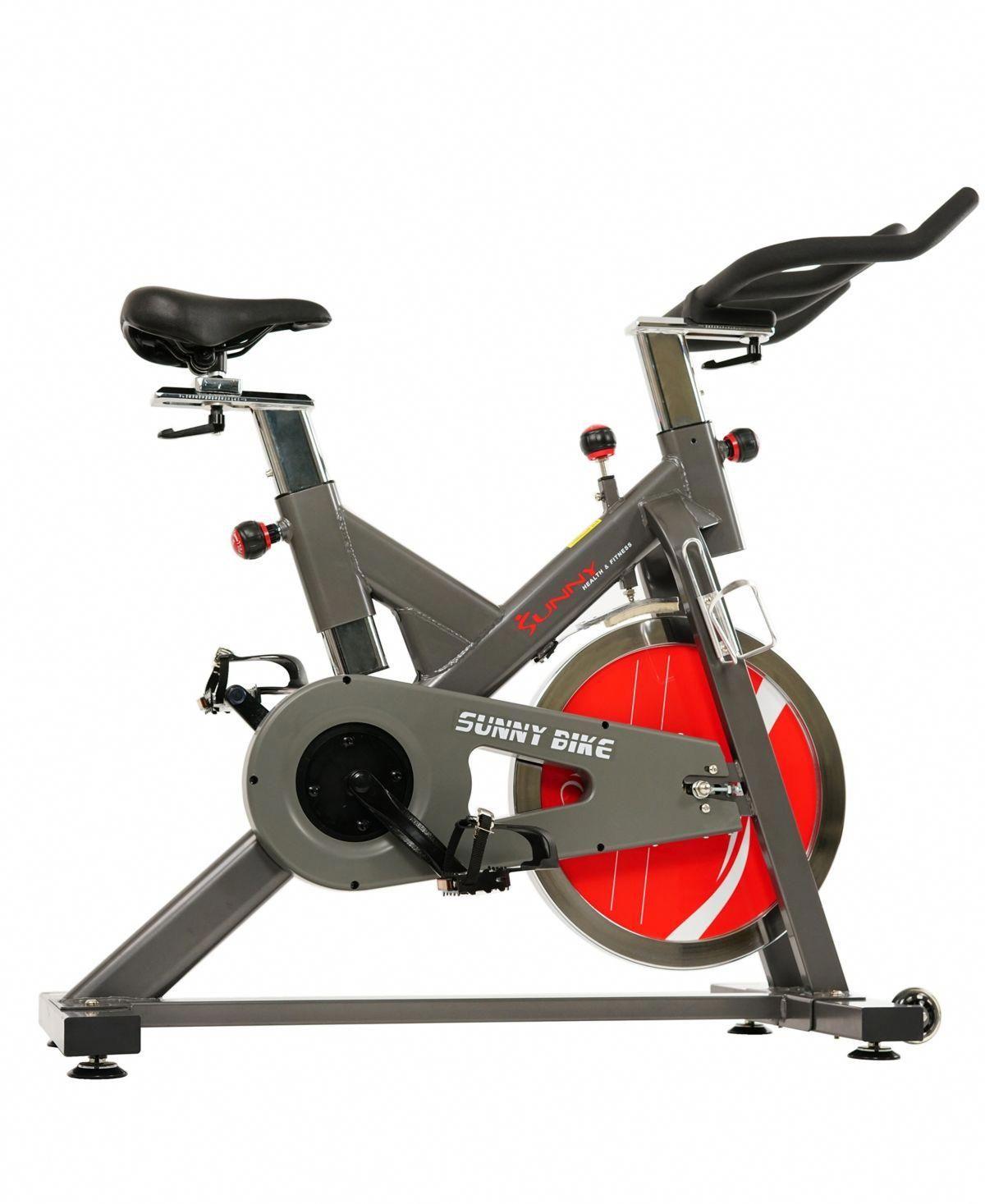 Sunny Health Fitness Belt Drive Indoor Cycling Bike Sf B1712