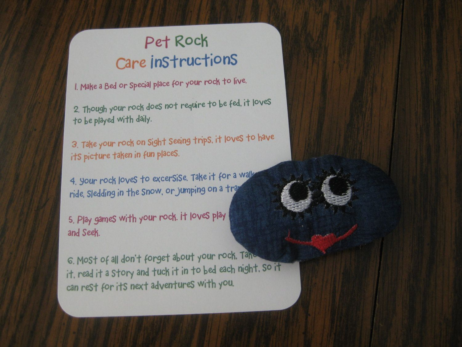Pet Rock Favor Thinking Up A Way To Turn It Into