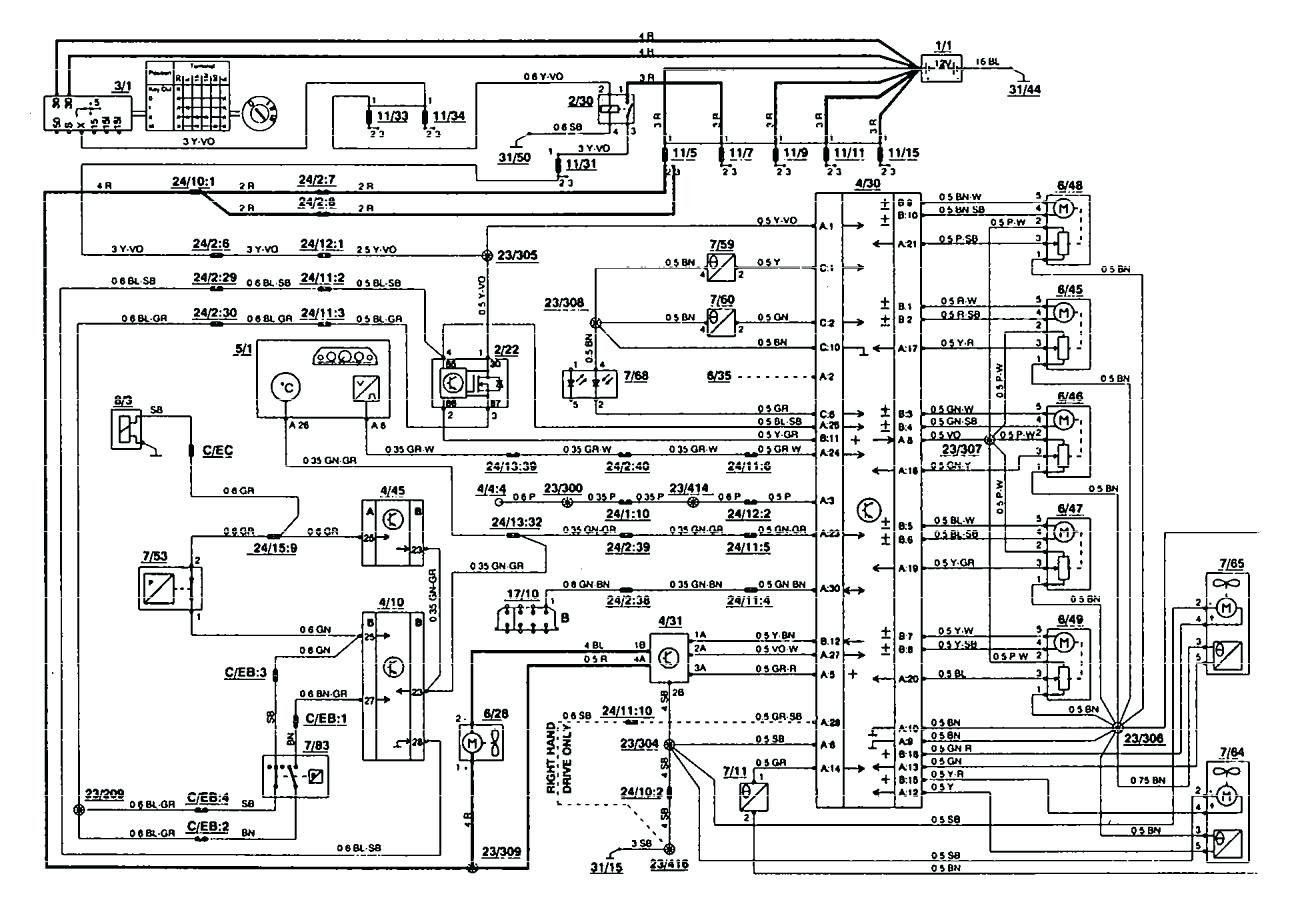 1995 Volvo 850 Radio Wiring Diagram Diagrams Controls Truck 1 New Holland Ls170 9 Electrical Diagram Circuit Diagram Electrical Circuit Diagram