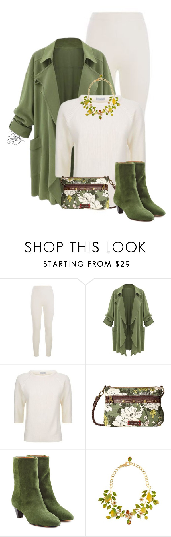 """""""Ready for Spring"""" by bainbridgegal ❤ liked on Polyvore featuring malo, Sakroots, Étoile Isabel Marant and Dolce&Gabbana"""