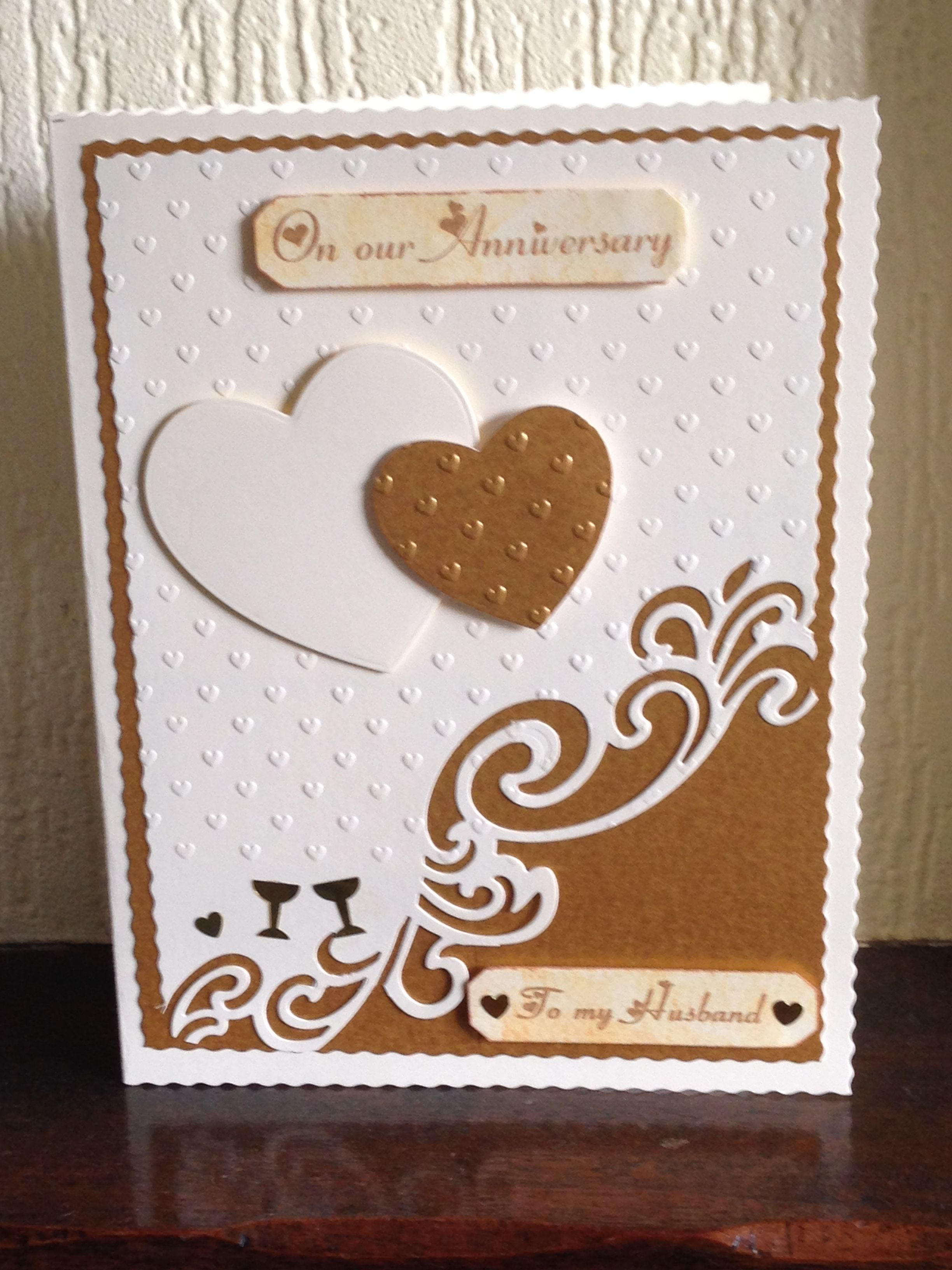 Our anniversary cards handmade handmade cards
