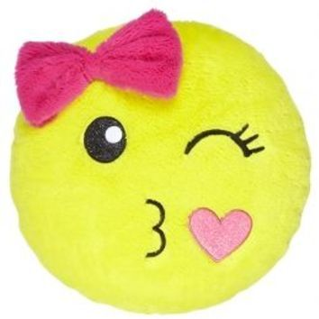 smiley face pillow girls room decor from justice - Shop Bedroom Decor