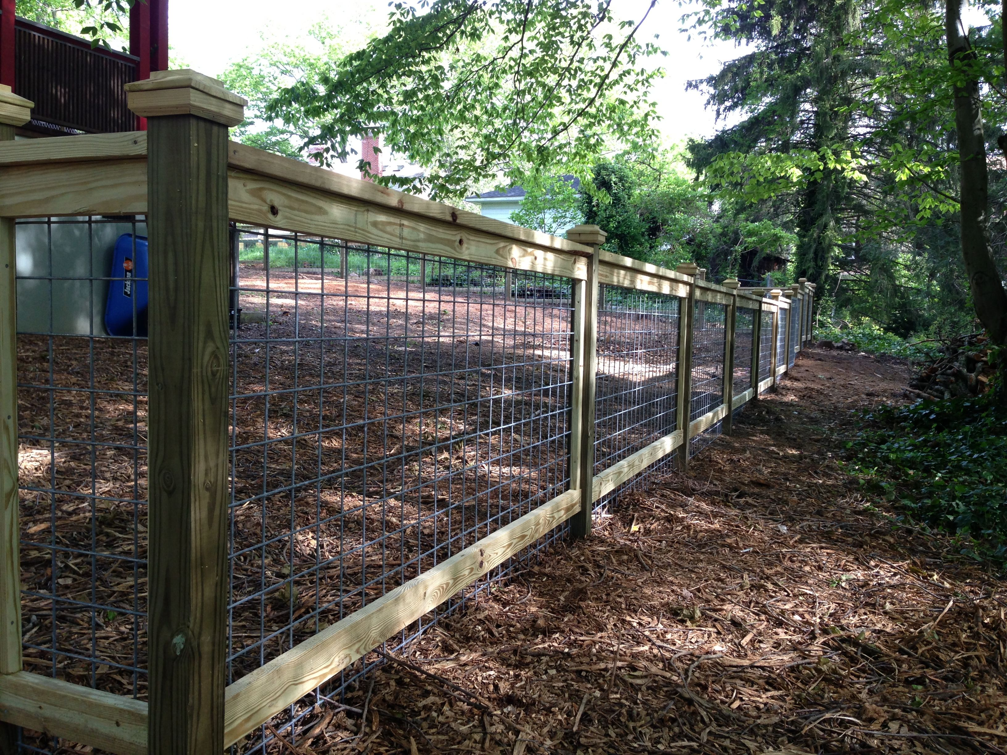 More attractive than most farm fencing http for Attractive garden fencing