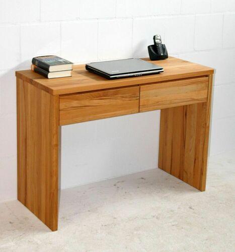 Massivholz Schreibtisch Kernbuche Massiv Geolt Konsolen Frisier Tisch Sekretar Ebay Wohn Schlafzimmer Konsole Kernbuche