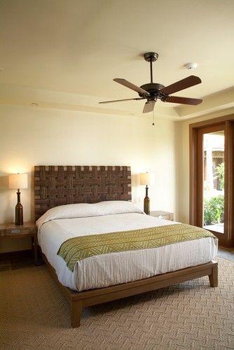 Hawaiian Style Bedroom: Simple Hawaiian Style Bedroom