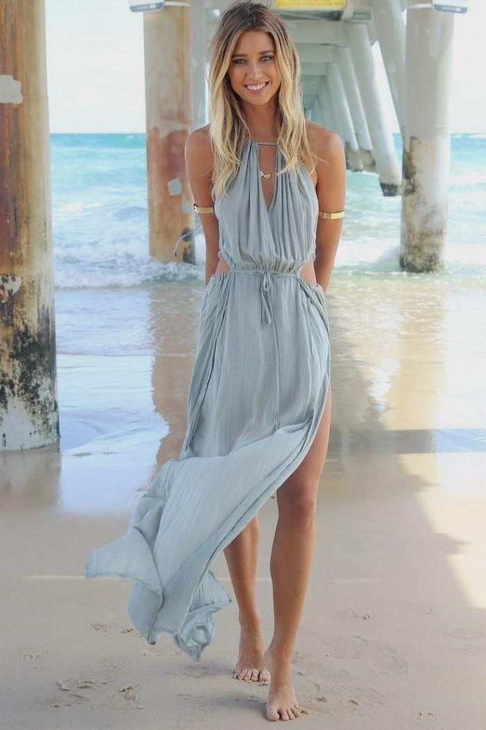Maxi dress tumblr summer | Color dress | Pinterest | Maxis ...