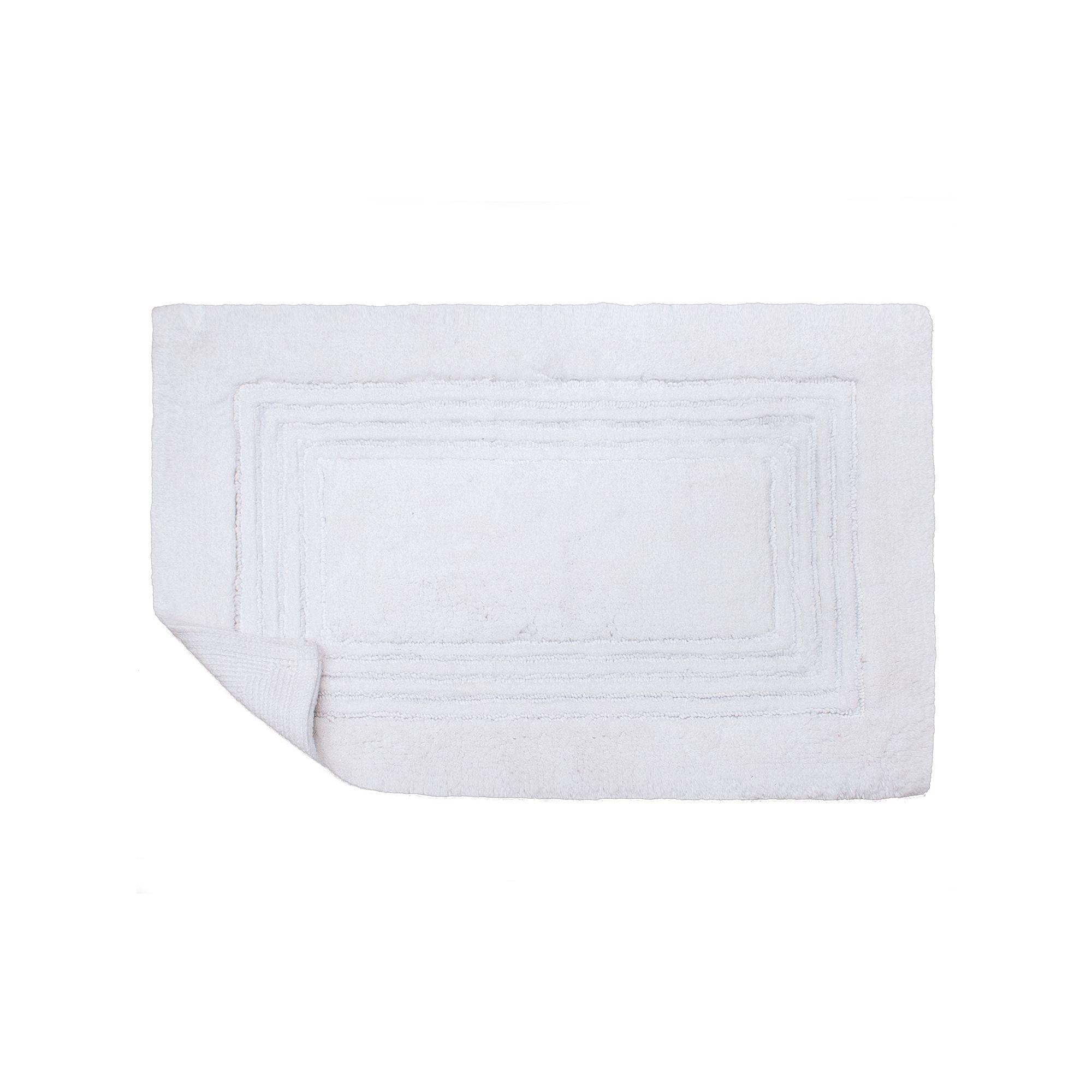 microcotton 17'' x 24'' bath rug, grey | products, rugs and bath rugs