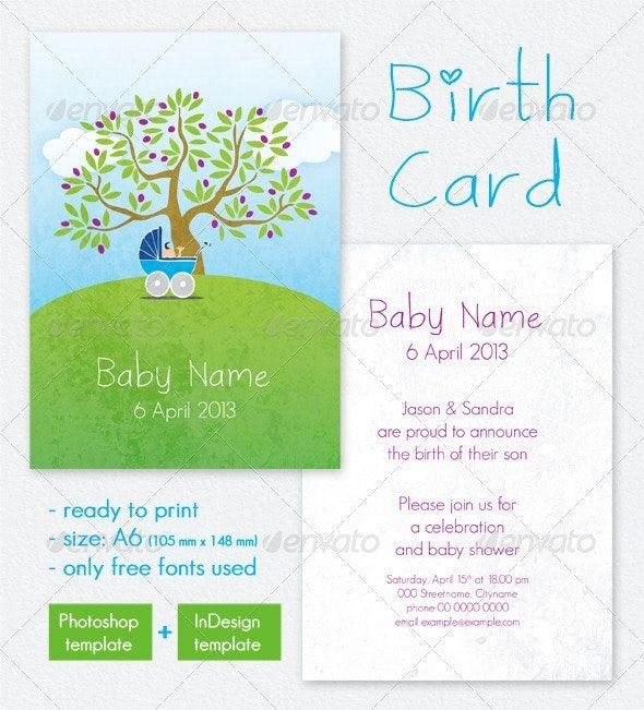birth card    baby shower invitation  ad  card   aff