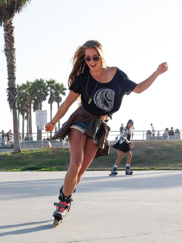 Sierra Q Los Angeles Fitness Portfolio Girls Roller Skates Roller Skaters Rollerblading