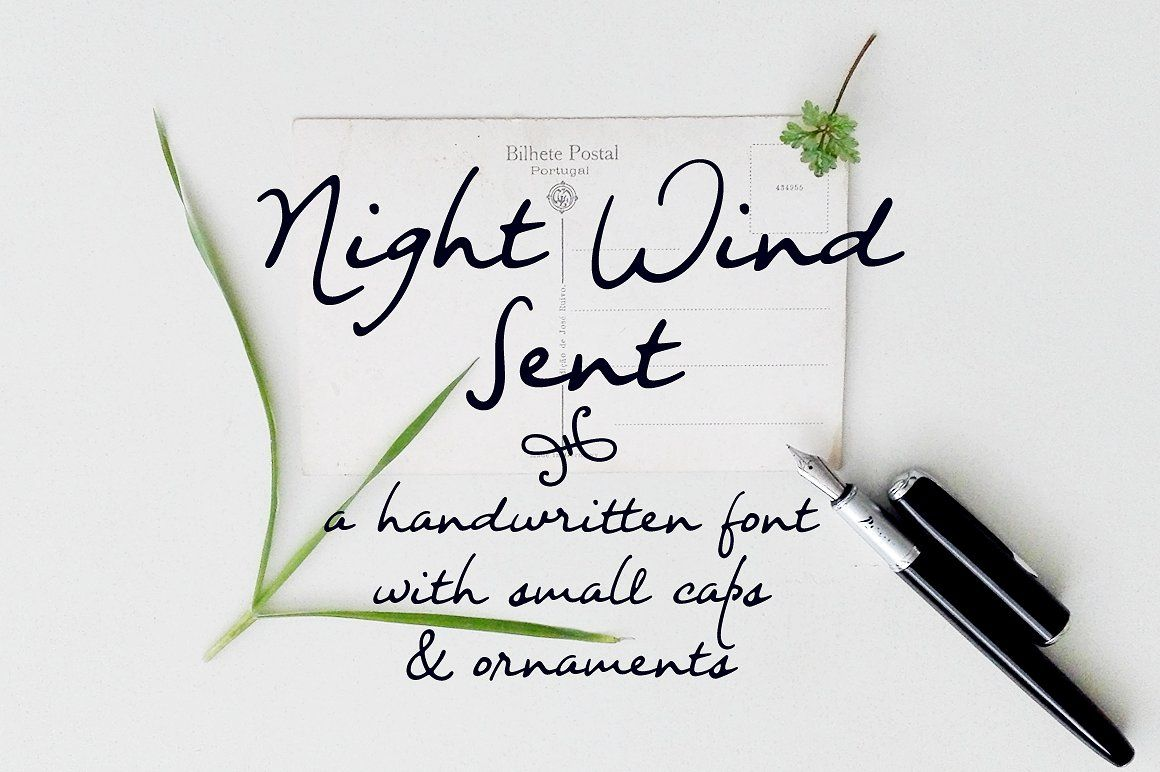 Night wind sent a handwritten font with small caps and ornaments night wind sent a handwritten font with small caps and ornaments biocorpaavc