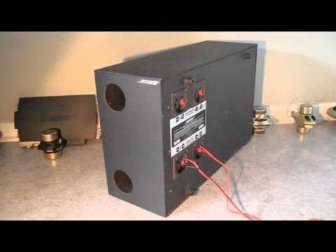 321 Bose Wiring Diagram Bose Acoustimass Se5 Series Ii Inner View Youtube