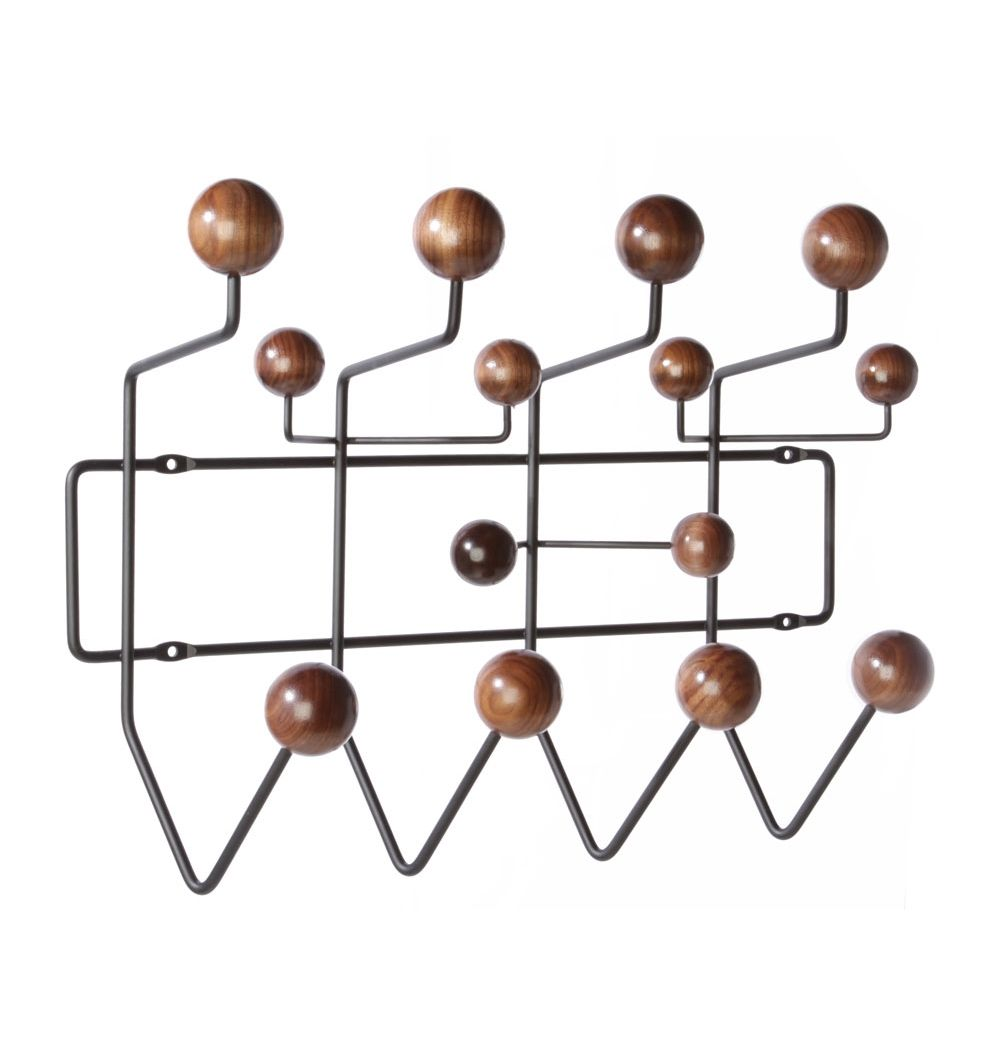 Replica Eames Hang It All (Walnut U0026 Oak) By Charles And Ray