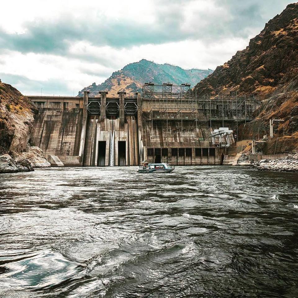 Hells Canyon Dam Killgoreadventures Jetboat