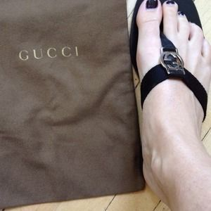 ed68f8460 I just added this to my closet on Poshmark  Gucci GG thong. Price