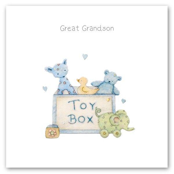 Cards » Great Grandson » Great Grandson - Berni Parker Designs