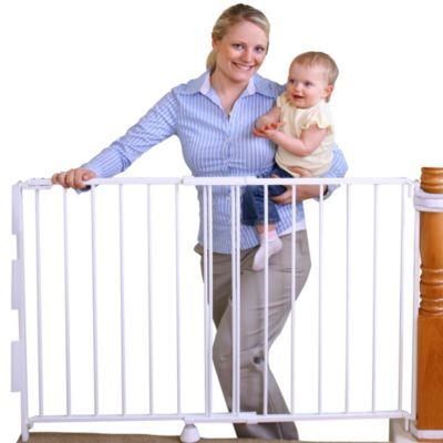 Regalo® 2 In 1 Extra Tall Top Of Stairs Gate   BuybuyBaby.