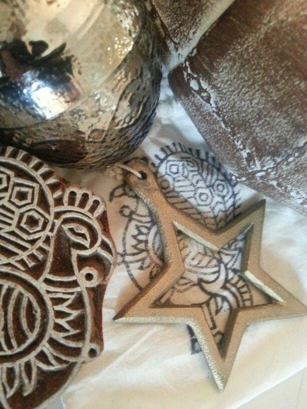 rustic christmas accessoires at BONHEUR
