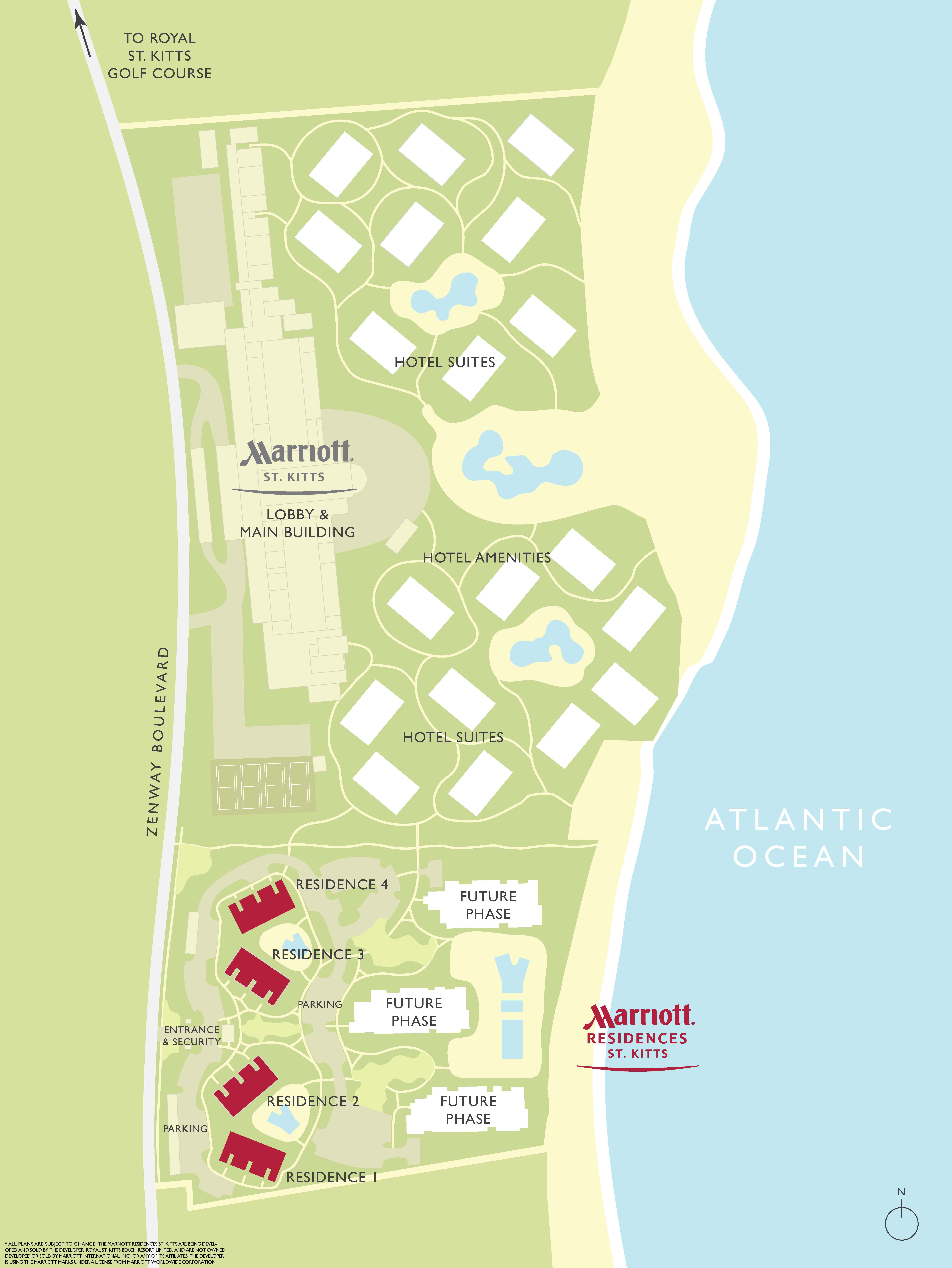 Marriott St Kitts Resort and Residences Plan – Site Plans Are Developed Using An
