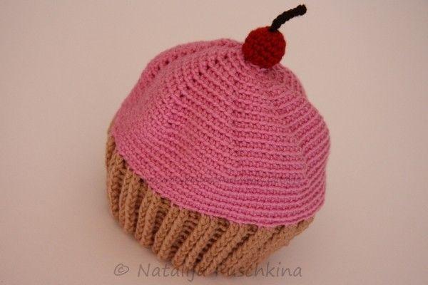 Tolle Cupcake-Mütze für Babys und Kinder   häkeln   Pinterest ...