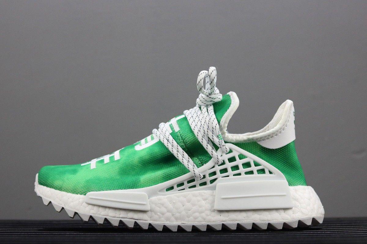 Pharrell x adidas NMD Hu 'Youth' Green For Sale
