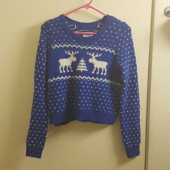 Abercrombie & Fitch fair Isle wool sweater small Size small. Has ...