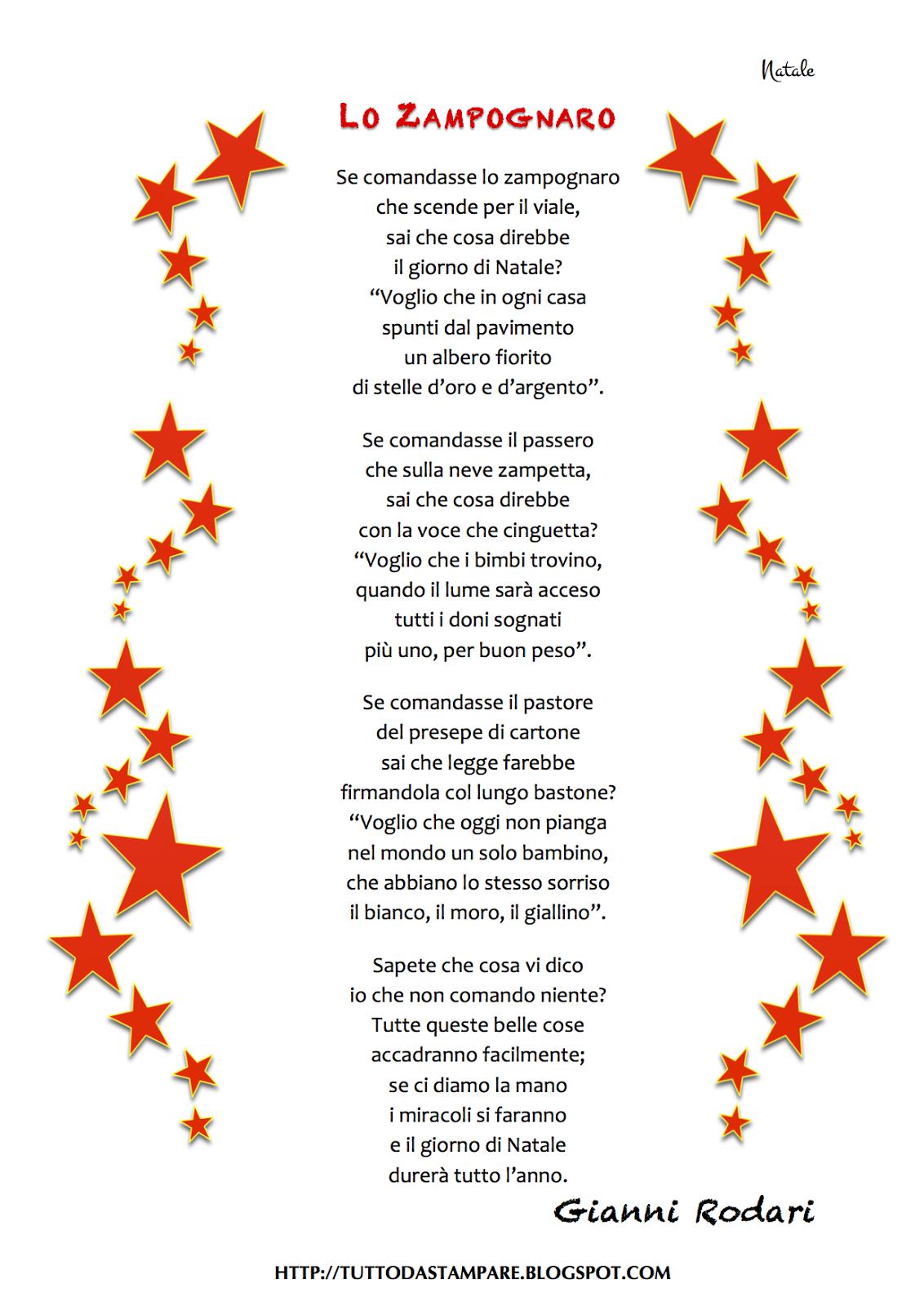 Poesie Di Natale Di Piumini.Lo Zampognaro Di Gianni Rodari Christmas Natale Poesia E Primo