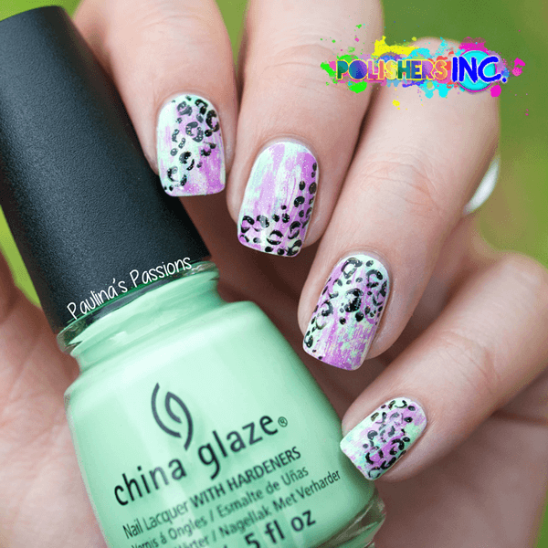 Diseños-de-Uñas-estilo-Animal-Print-15.png (600×600) | Abstract nail ...
