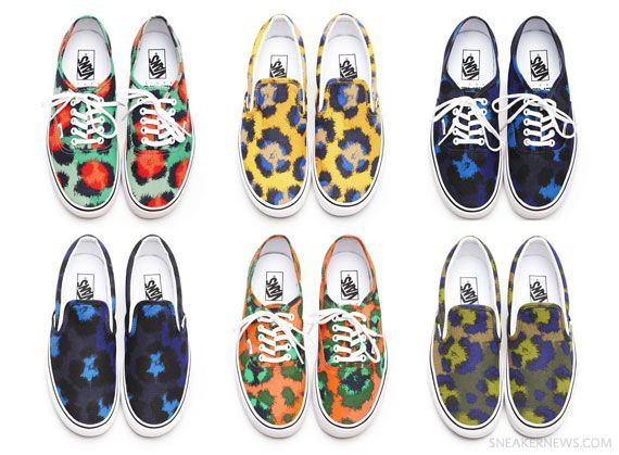 49f1cac44d seriously a match made in sneaker heaven....Kenzo x Vans Spring 2013