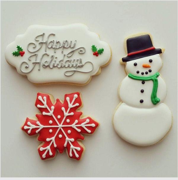 "Jessica Edwards on Instagram: ""Working on Christmas cookies every day now!  #decoratedcookies #cookies #customcookies #sugarcookies #christmascookies #yxe #saskatoon"""