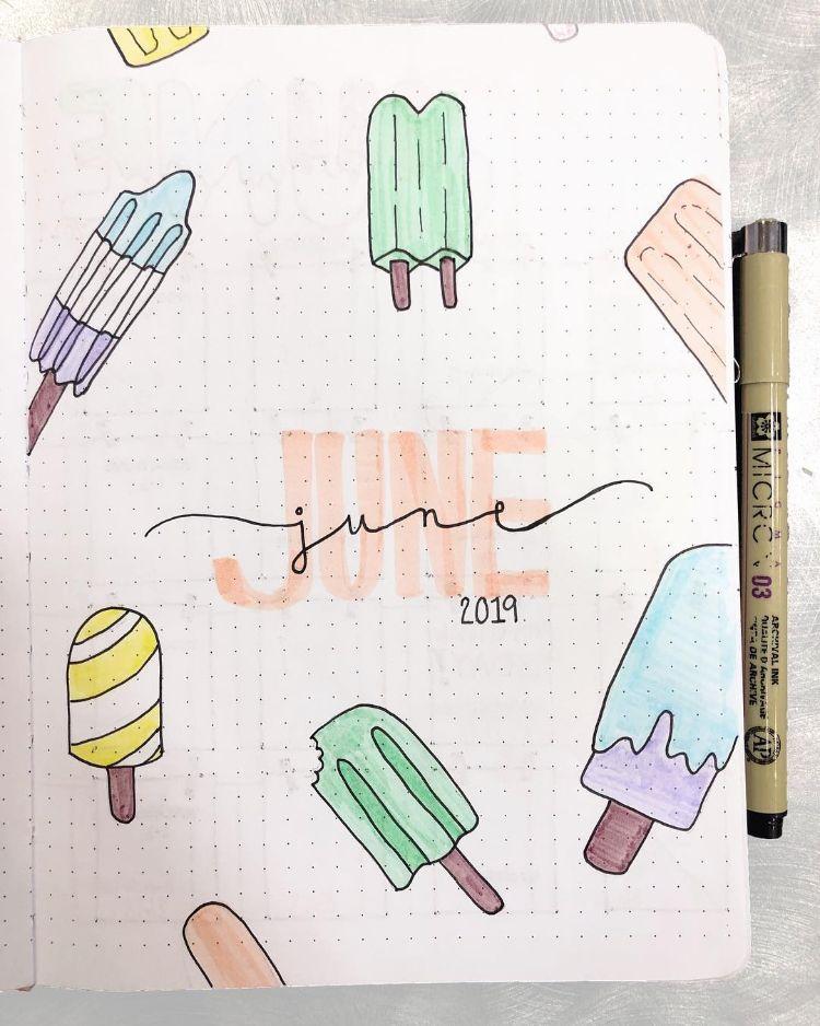 28 Best Bullet Journal Spreads for June – Beautiful Dawn Designs