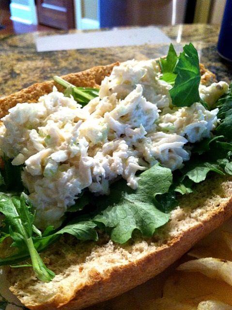 レシピとお料理がひらめくSnapDish - 0件のもぐもぐ - Crab Sandwich by Hannah Anderson
