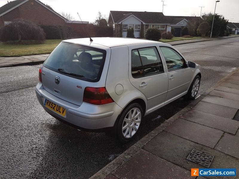 Car For Sale Vw Golf Gti Mk4 2 0 Fsh 2 Keys Fab Condition