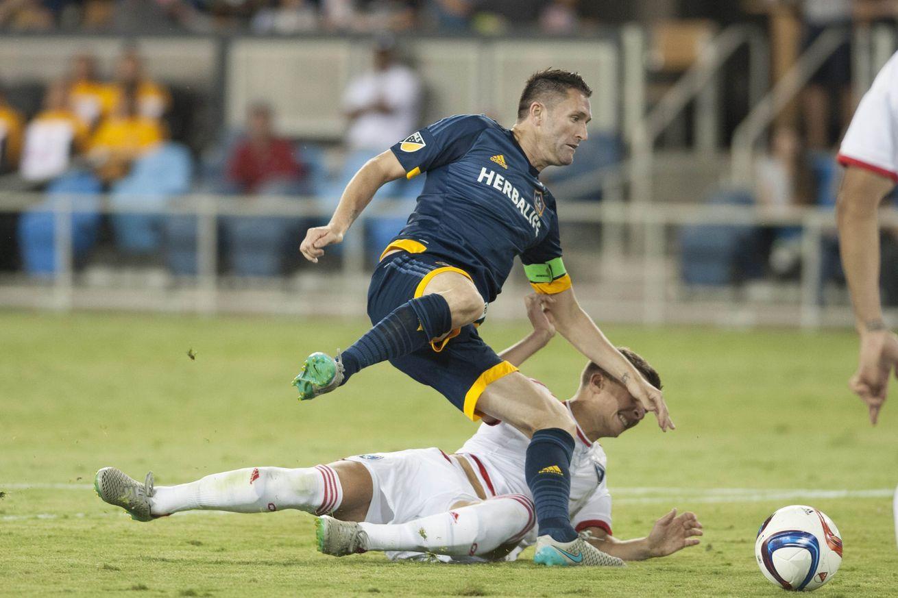 LA Galaxy vs. San Jose Earthquakes MLS Soccer (With