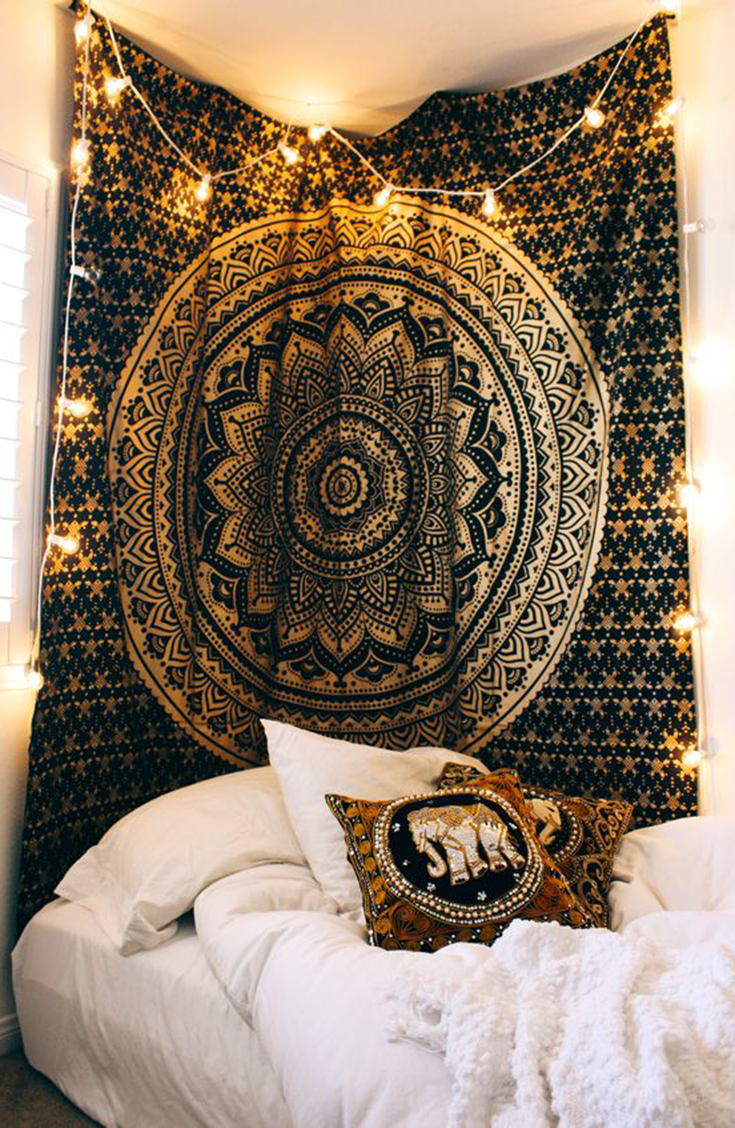 The Fame Mandala Tapestry | Bedrooms, Dorm and Room