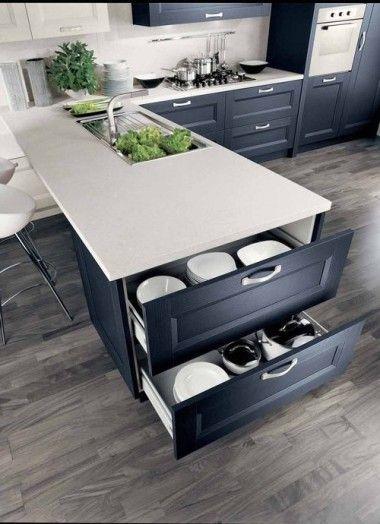 Future kitchen option 1 #contemporarykitcheninterior