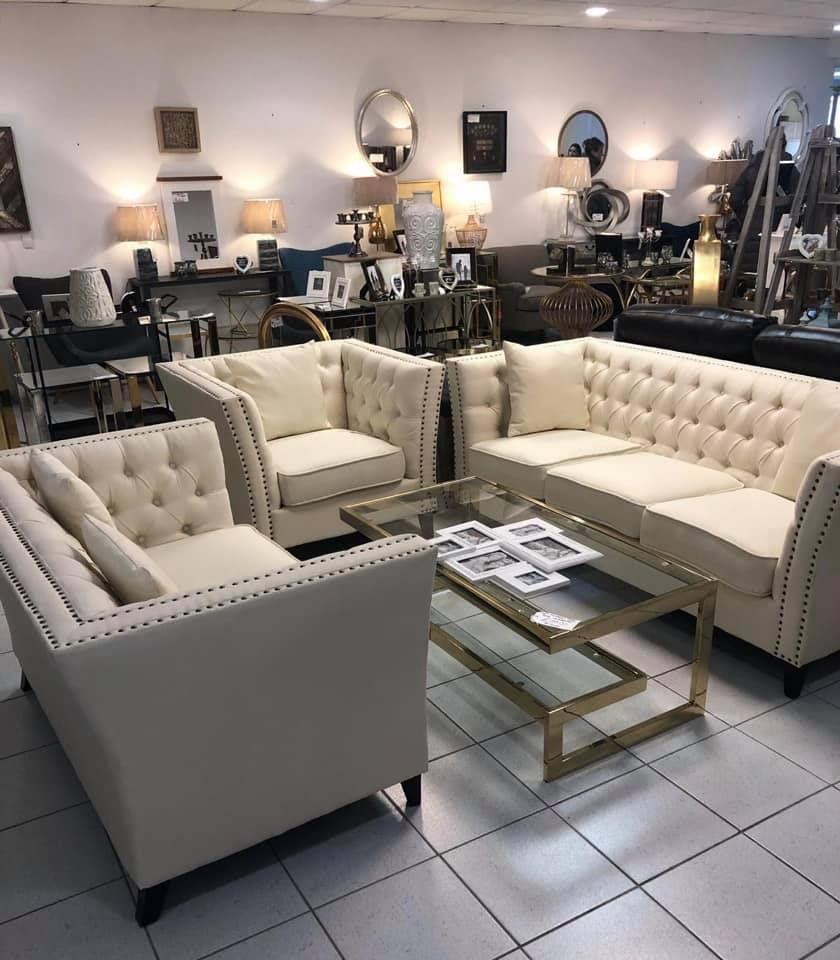 Chloe 3&2 Sofa Set - £299 / Chloe Armchair - £79 Leigh-on-Sea Store ...