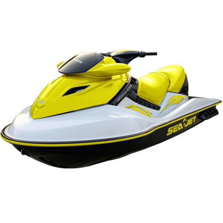 Your Jetski Will Look Fresh With A White Yellow Covering Two