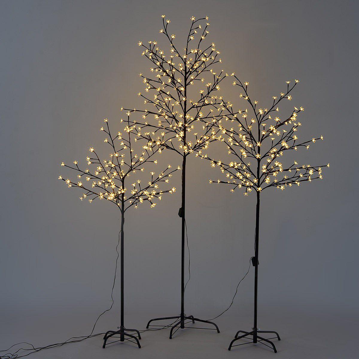 Christmas Xmas Cherry Blossom Tree W Led Light Led Tree Christmas Decorations For The Home Led Christmas Lights