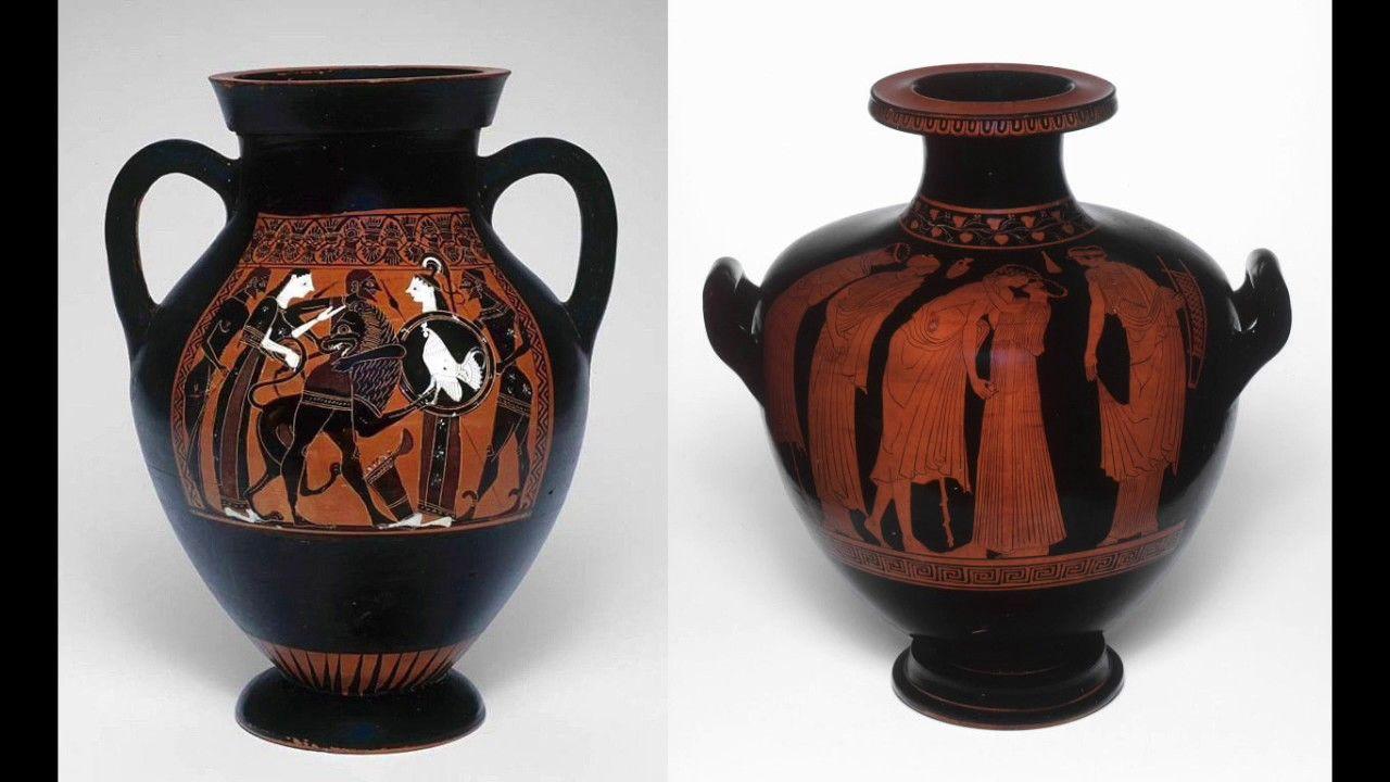 Black Figure Vs Red Figure Ancient Greek Vase Painting Techniques 76 Greek Vases Ancient Greek Pottery Ancient Vase