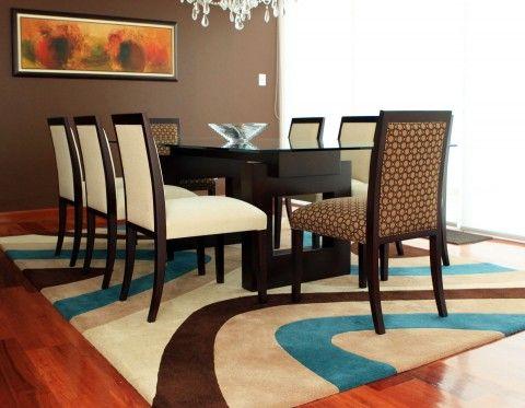 Fotos de alfombras deco dining pinterest alfombra for Imagenes alfombras modernas