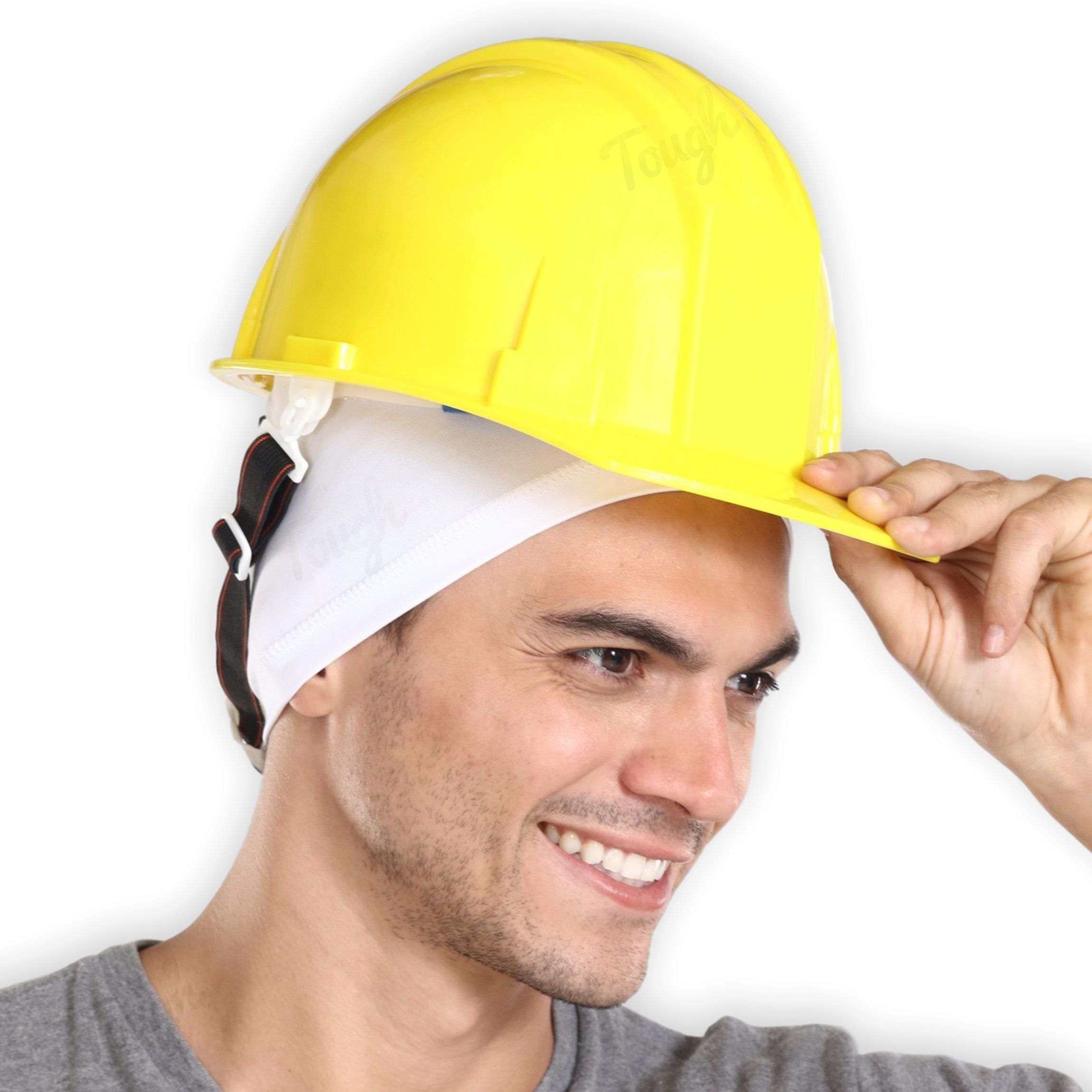 Tough Headwear Sweatwicking Helmet Liner Cooling Skull Cap For Men