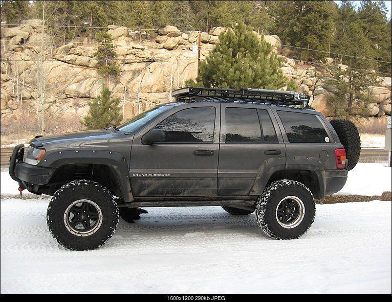 jeep grand cherokee wj roof tray
