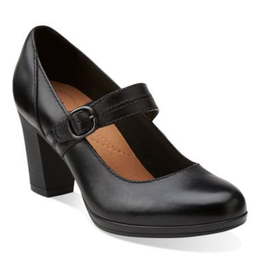 18128fcda Clarks® Brynn Posey Leather Pumps found at  JCPenney