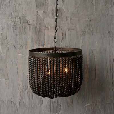 Creative Co Op Turn Of The Century Wood Beads Chandelier Reviews