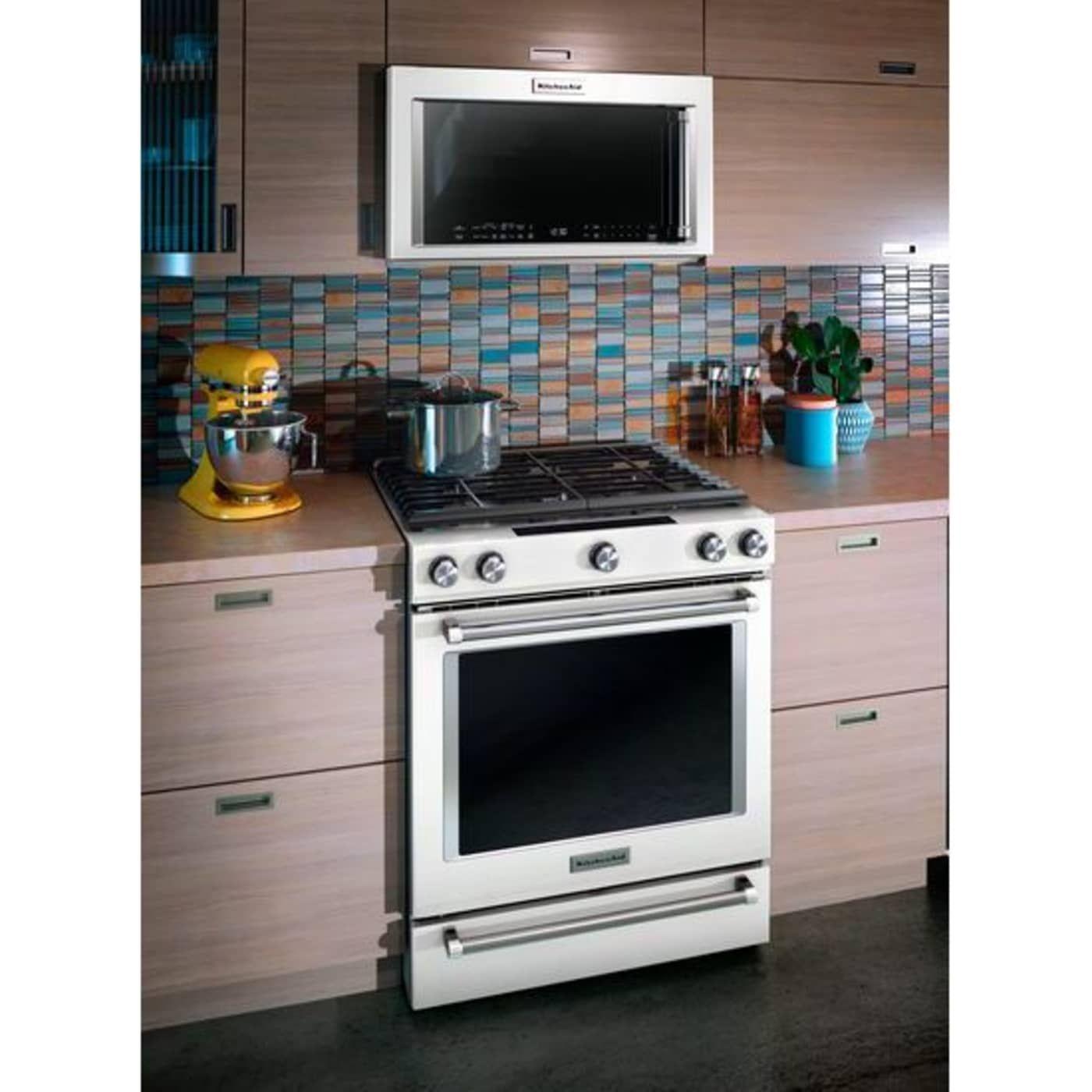Kmhc319ewh by kitchenaid overtherange microwaves